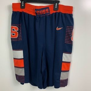 Nike Syracuse Athletic shorts men's size large